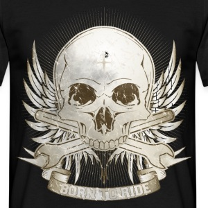 Born To Ride - Vintage T-Shirts - Männer T-Shirt