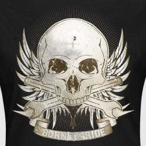 Born To Ride - Vintage T-Shirts - Frauen T-Shirt