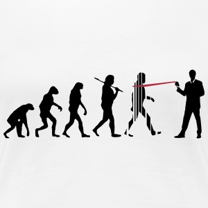 evolution nsa T-Shirts - Frauen Premium T-Shirt