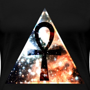 Hipster triangle with Ankh-mark T-skjorter - Premium T-skjorte for kvinner