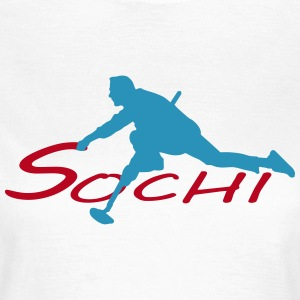 Curling Sochi T-Shirts - Women's T-Shirt