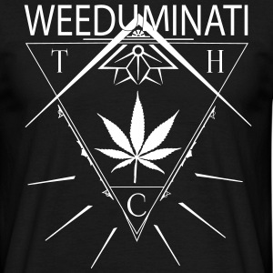 WEED - Tee shirt Homme