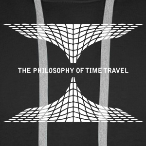 philosophy time travel Sweaters - Mannen Premium hoodie