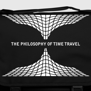 philosophy time travel Bags & Backpacks - Shoulder Bag