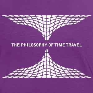 philosophy time travel Camisetas - Camiseta contraste mujer