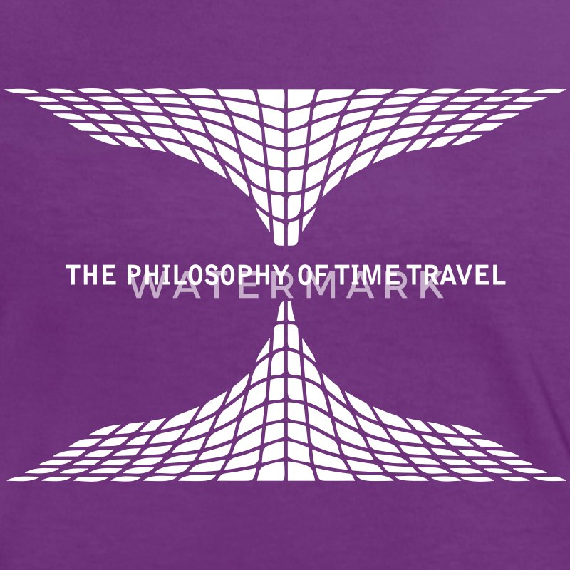 philosophy time travel T-Shirts - Women's Ringer T-Shirt