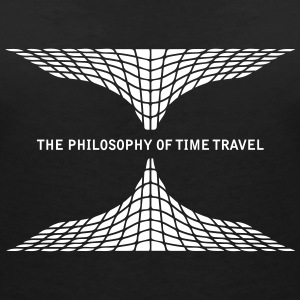 philosophy time travel T-Shirts - Women's V-Neck T-Shirt