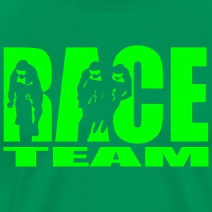 race team T-shirts - Herre premium T-shirt