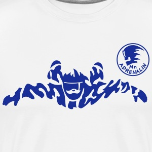 skydiver extreme T-shirts - Mannen Premium T-shirt