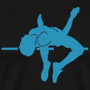 high jumping T-shirts - Mannen Premium T-shirt