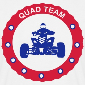 quad team T-shirts - T-shirt herr
