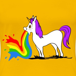 Unicorn - Rainbow T-Shirts - Women's Premium T-Shirt