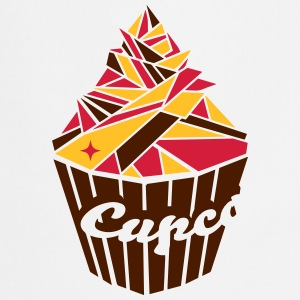Cupcake of geometric shapes  Aprons - Cooking Apron