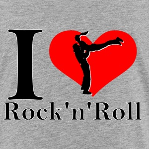 I Love Rock n Roll - Kinder Premium T-Shirt