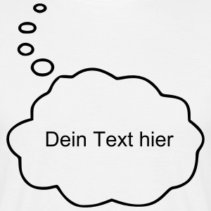 Speech Bubble / Thought Bubble T-Shirts - Men's T-Shirt