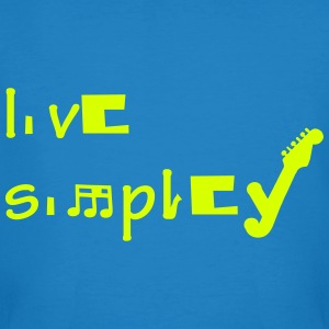 live simpley T-Shirts - Men's Organic T-shirt