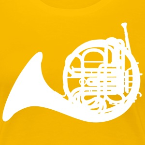French Horn T-shirts - Vrouwen Premium T-shirt