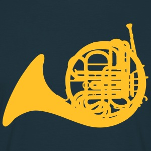 French Horn T-shirts - Herre-T-shirt