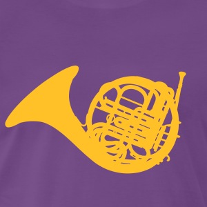 French Horn T-shirts - Mannen Premium T-shirt