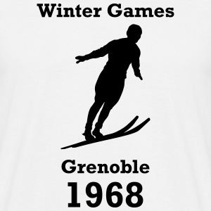 winter games 1968 Tee shirts - T-shirt Homme