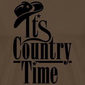 ITS COUNTRY TIME T-Shirts - Männer Premium T-Shirt