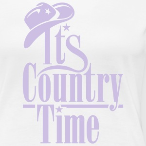 ITS COUNTRY TIME T-Shirts - Frauen Premium T-Shirt