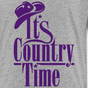 ITS COUNTRY TIME T-Shirts - Kinder Premium T-Shirt