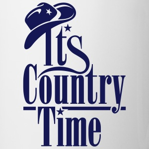 ITS COUNTRY TIME Flaschen & Tassen - Tasse