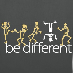be different (2c) Sacs et sacs à dos - Tote Bag
