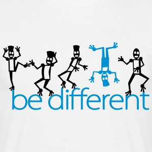 be different (2c) T-shirts - Mannen T-shirt