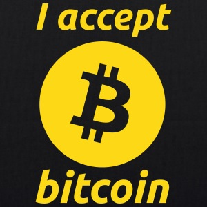 I Accept Bitcoin's Bags & backpacks - EarthPositive Tote Bag