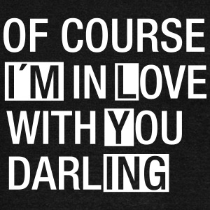 Of Course I´m In Love With You...(I´m Lying) Pullover & Hoodies - Frauen Pullover mit U-Boot-Ausschnitt von Bella