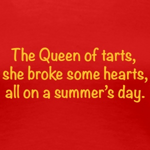 the_queenoftarts T-Shirts - Women's Premium T-Shirt