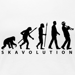 evolution_ska_122013_a_1c T-Shirts - Frauen Premium T-Shirt