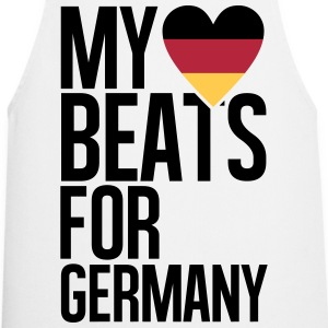 MY HEART BEATS FOR GERMANY Schürzen - Kochschürze