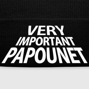 Very Important Papounet Papa (1c) Caps & Hats - Winter Hat