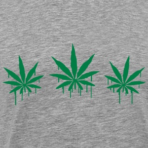 Weed Graffiti T-Shirts - Men's Premium T-Shirt