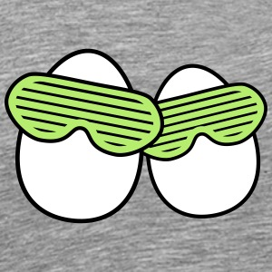Funky Eggs T-Shirts - Men's Premium T-Shirt