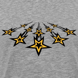 Flying Stars T-shirts - Mannen Premium T-shirt