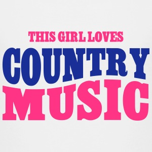 THIS GIRL LOVES COUNTRY MUSIC T-Shirts - Teenager Premium T-Shirt