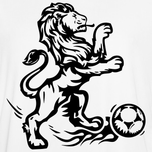 football soccer lion fußball ball goal champion T-Shirts - Men's Football Jersey