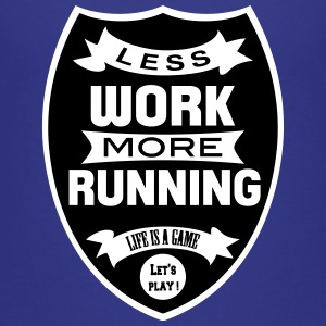 Less work more Running Tee shirts - T-shirt Premium Enfant
