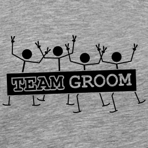 Team Groom Party Crew T-skjorter - Premium T-skjorte for menn