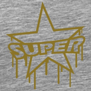 Super Star Graffiti T-shirts - Premium-T-shirt herr