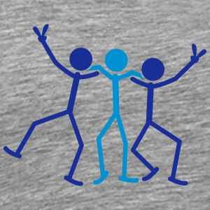 Party Team Friends T-shirts - Premium-T-shirt herr