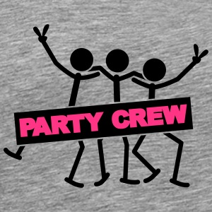 Party Crew Team T-skjorter - Premium T-skjorte for menn