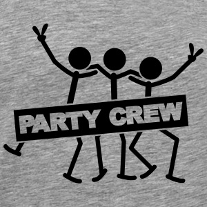 Party Crew Team T-shirts - Herre premium T-shirt