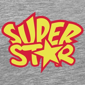 Super Star T-shirts - Herre premium T-shirt