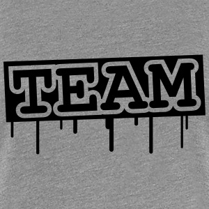 Team Graffiti Design T-Shirts - Women's Premium T-Shirt