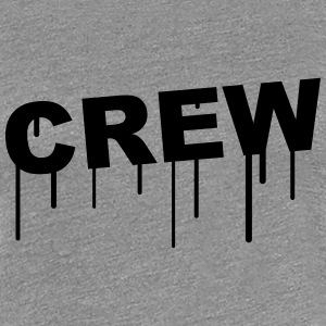Crew Graffiti T-Shirts - Frauen Premium T-Shirt